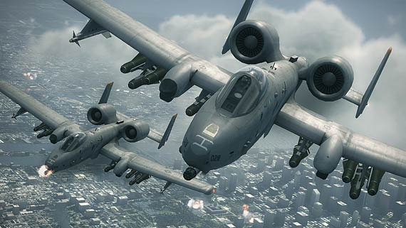 View preview and trailer of Ace Combat 6: Fires of Liberation