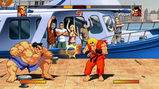 Street Fighter II HD Remix