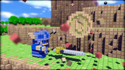 3D Dot Game Heroes Screenshot