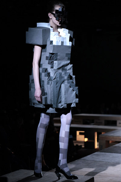 8-Bit Fashion Image