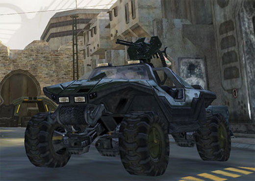 The vehicles even improved Halo 2