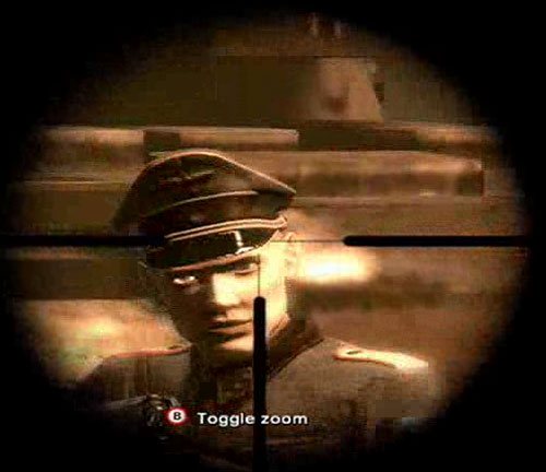 Operation Darkness Screenshot - This is the best possible way to look at a nazi. From far away, with a gun.