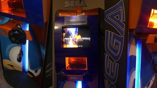 Sega Saturn Kiosk Screenshot