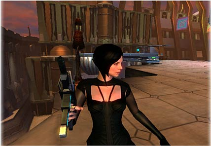 Aeon Flux Screenshot