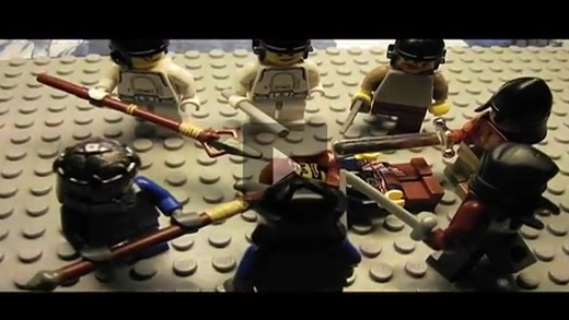 Video: Assassin's Creed: Revelations trailer in Lego
