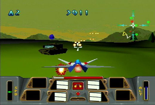 Linking the past, present, and future: The Atari Jaguar as console artifact - Battlemorph Screenshot