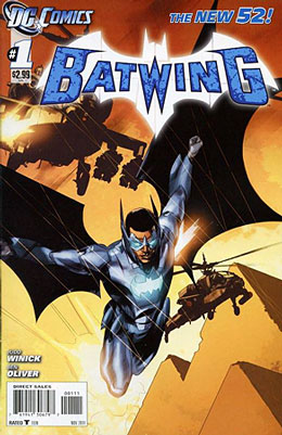 Batwing #1 Cover
