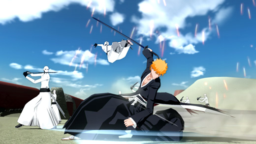 Bleach: Soul Resurreccion Screenshot