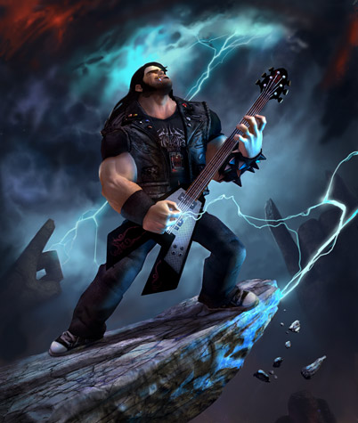 Click here for Brütal Legend Art Gallery