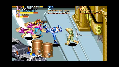 Capcom Classics Collection Remix Screenshot