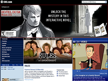 Ad of Hotel Dusk Room 215 on CBS.com