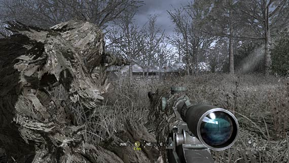Call of Duty 4: Modern Warefare Screenshot