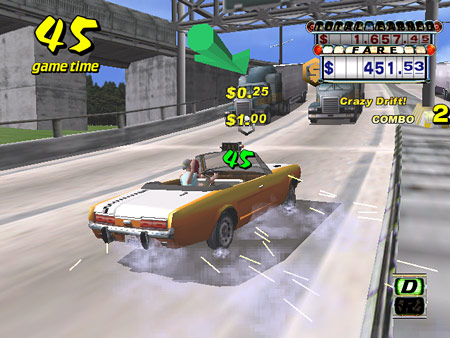 Does the Dreamcast still hold a place in our hearts? - Crazy Taxi Screenshot