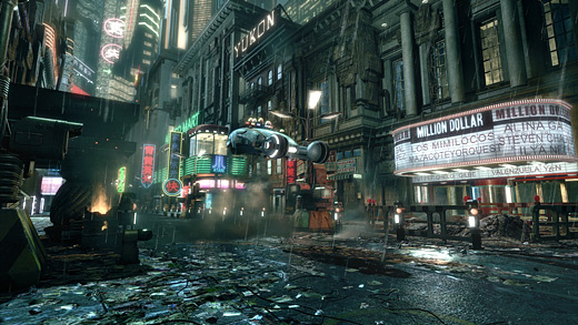 "Winners of Game-Artist ""Scene from a Movie"" Competition - Bladerunner"