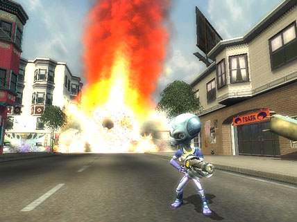 Destroy All Humans! 2 Screenshot