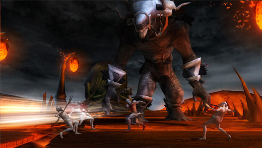 Dante's Inferno PSP Screenshot