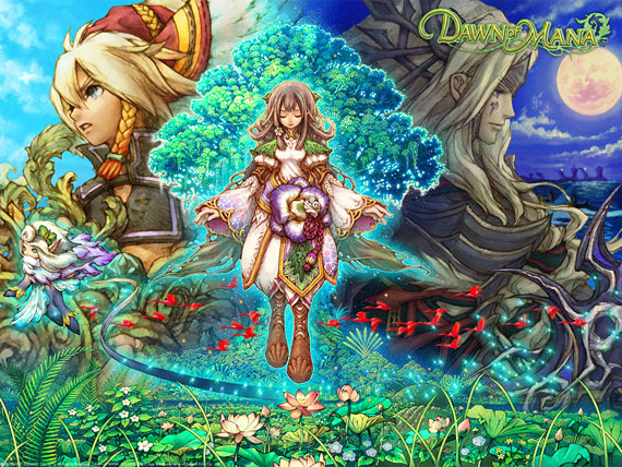 Dawn of Mana Artwork