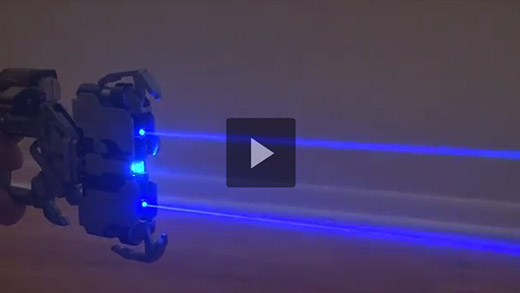 Video: Add deadly lasers to replica Dead Space plasma cutter