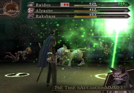 Shin Megami Tensei: Devil Summoner 2 - Raidou Kuzunoha vs King Abaddon Screenshot