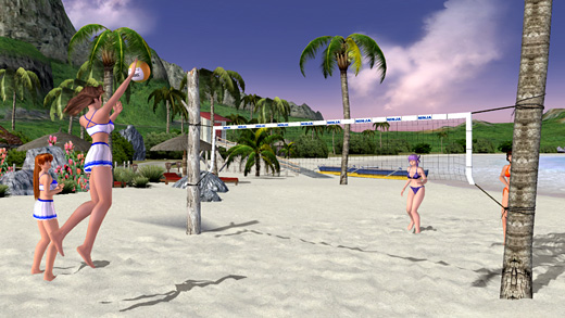 Dead or Alive:  Xtreme Beach Volleyball Screenshot