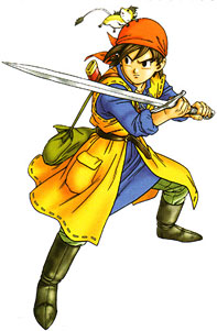 Hero from Dragon Quest VIII