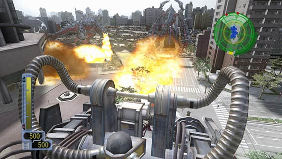 Earth Defense Force 2017 Screenshot