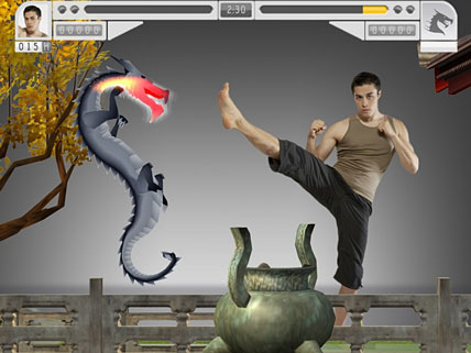 EyeToy: Kinetic Combat Screenshot