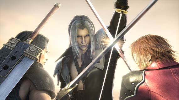 Crisis Core: Final Fantasy VII CG Artwork