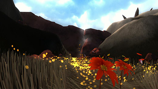 Flower (PS3) Screenshot