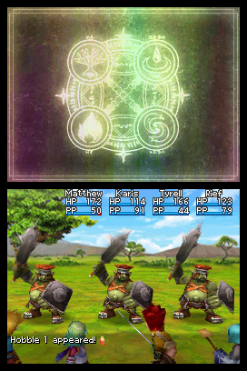 Golden Sun: Dark Dawn Screenshot