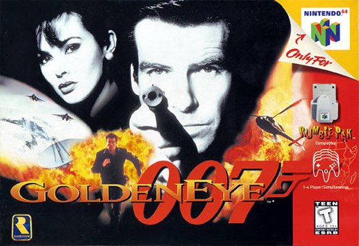 GoldenEye 007 Nintendo 64 Box Art