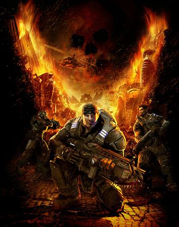 Gears of War art