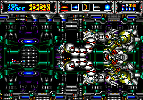 Thunder Force III (Sega Genesis) Screenshot
