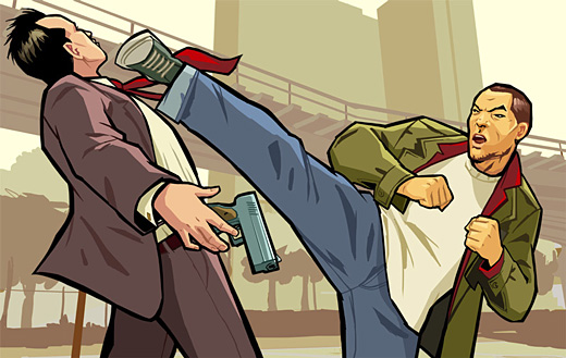 Grand Theft Auto: Chinatown Wars Art