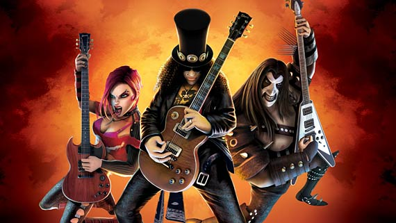 Guitar Hero III: Legends of Rock Artwork