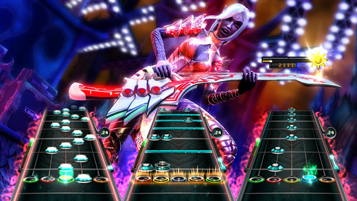 Guitar Hero 5: Warriors of Rock Screenshot