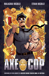 Interview with Ethan Nicolle, co-creator of Axe Cop