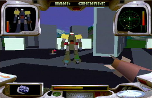 Linking the past, present, and future: The Atari Jaguar as console artifact - Iron Soldier Screenshot