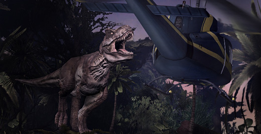 Jurassic Park: The Game Screenshot