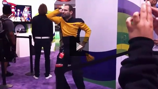 Video: Kinect brings out the Disco Inferno in Star Trek fan