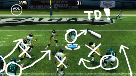 Madden NFL 08 (Wii) Screenshot