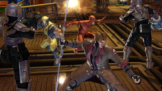 The Kairos of Marvel: Ultimate Alliance 2 (Screenshot)