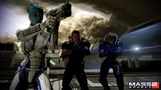 Mass Effect 2: Lair of the Shadow Broker Screenshot