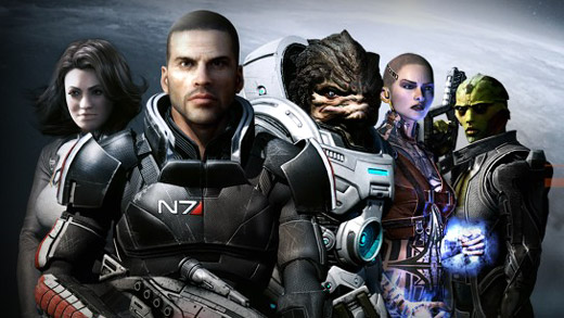 Mass Effect 2 Art