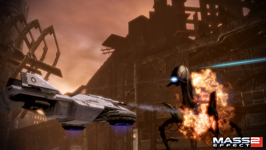 Mass Effect 2: Firewalker Screenshot