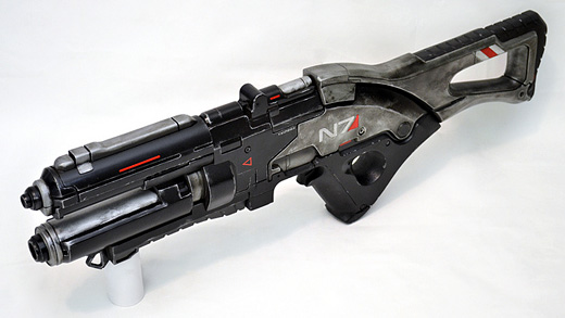 Mass Effect V7 Rifle by Harrison Krix