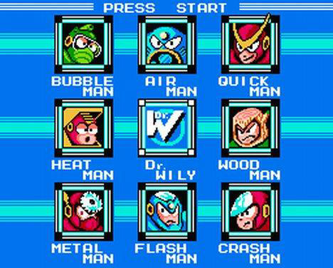 Mega Man 2 Bosses