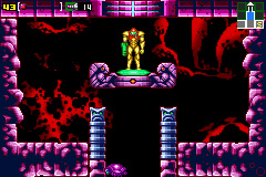 Metroid: Zero Mission Screenshot