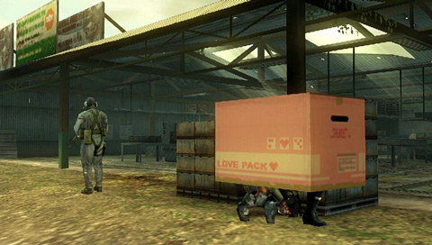 Metal Gear Solid: Peace Walker Screenshot