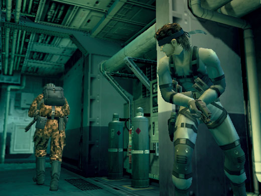 Metal Gear Solid 2: Sons of Liberty Screenshot